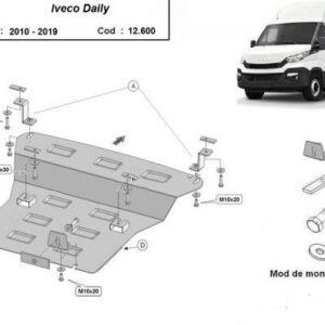 SCUT MOTOR METALIC IVECO DAILY 2010+