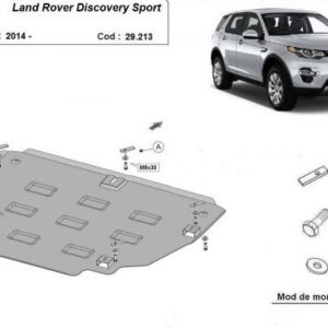 SCUT MOTOR METALIC LAND ROVER DISCOVERY SPORT 2014+