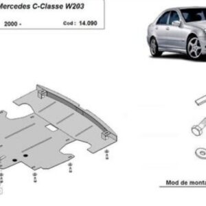 SCUT MOTOR METALIC MERCEDES C-CLASS W203 2.0 BENZINA 2000-2007