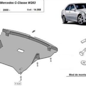 SCUT MOTOR METALIC MERCEDES C-CLASS W203 2.2 DIESEL 2000-2007