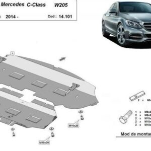 SCUT MOTOR METALIC MERCEDES C-CLASS W205 2X4 2014+