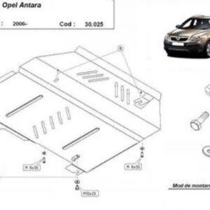 SCUT MOTOR METALIC OPEL ANTARA 2006-2010
