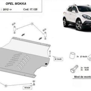 SCUT MOTOR METALIC OPEL MOKKA 2012+