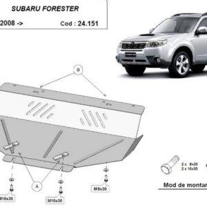 SCUT MOTOR METALIC SUBARU FORESTER 2008-2013