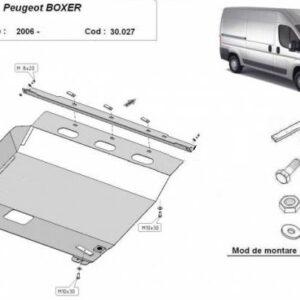 Scut motor metalic Peugeot Boxer 2006-prezent