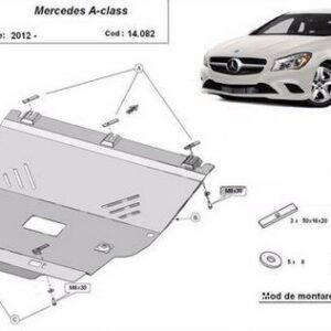 Scut motor metalic Mercedes A-Class W176 2012-prezent