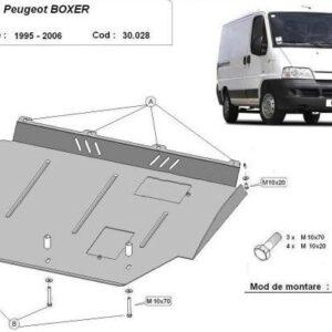 Scut motor metalic Peugeot Boxer 1996-2006